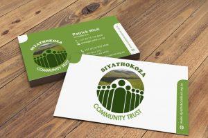 Siyathokoza Community Trust Business Card 2
