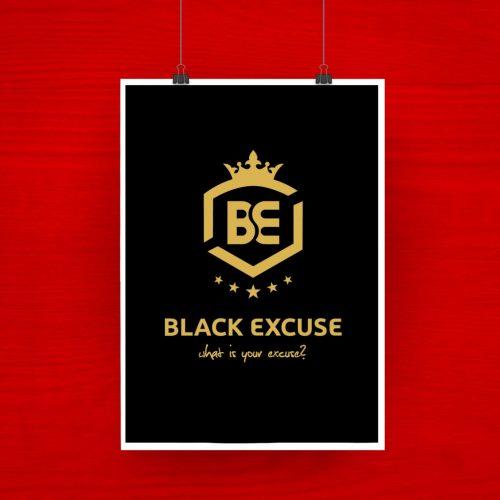 Black Excuse logo