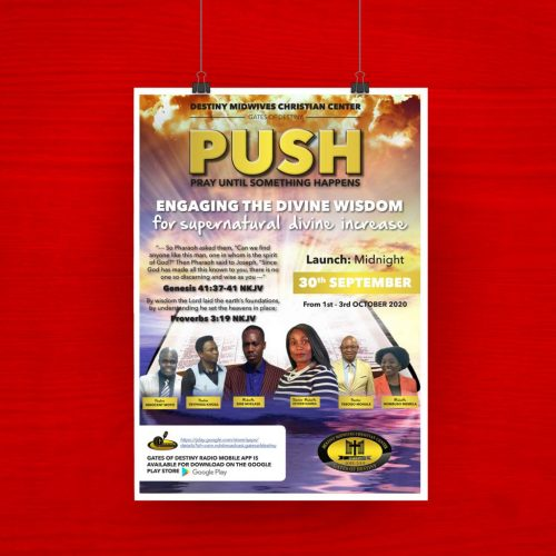DMCC - PUSH Poster