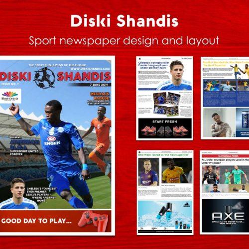 Disk Shandis - Newspaper