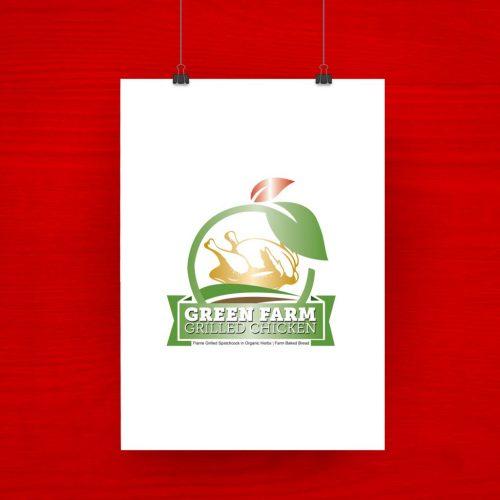 Green Farm Chicken Grilled logo 1
