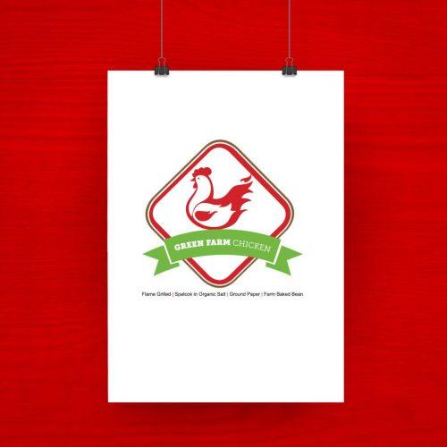 Green Farm Chicken Grilled logo 2