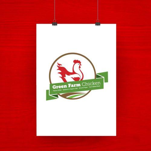 Green Farm Chicken Grilled logo 3