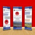 Hlongwa CBO Network Presentation Banners