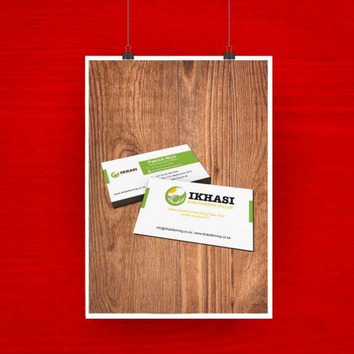 Ikhasi Business Card artwork 1