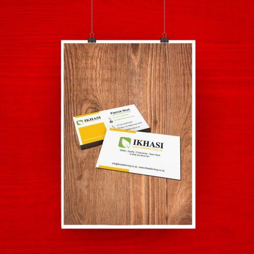 Ikhasi Business Card artwork 2