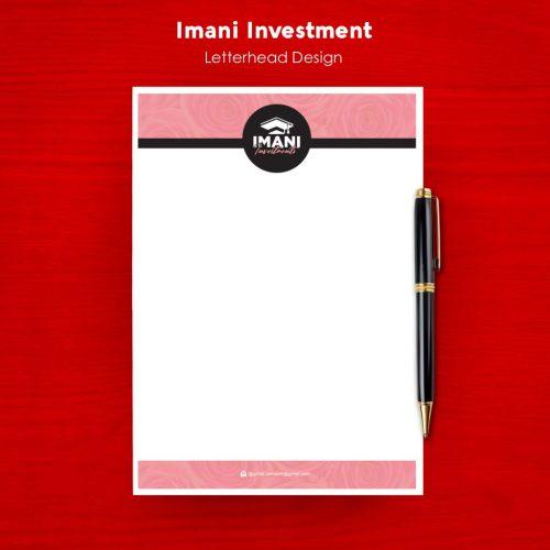 Imani Investment - Letterhead
