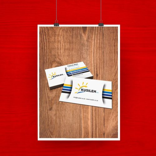 Kusileh Business Card artwork 2