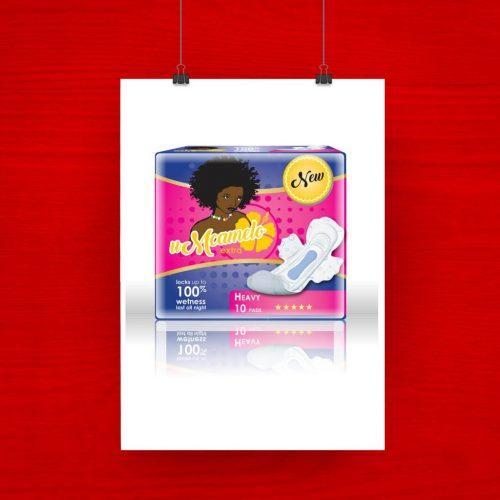 uMcamelo Pads Packaging Option 2 artwork
